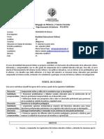 Programa curso Realidad Educacional chilena 2020