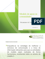 Apresentacao Mecanismo de Comunicaçao