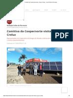 Comitiva da Coopernorte visita o Grupo Creluz - Jornal Folha do Noroeste