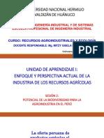 SESIÓN 2 - POTENCIAL DE LA AGROINDUSTRIA EN EL PERÚ .