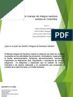 Legislación manejo de integrar residuos solidos en Colombia (1)