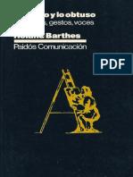 Barthes - Lo obvio y lo obtuso Imágenes, gestos, voces-Editorial Paidós (1986).pdf
