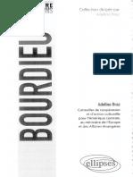 (Connaître en citations) Adelino Braz - Bourdieu-Ellipses (2017)
