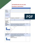Ficha de Planificación de una clase con aprendizaje inverso