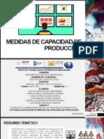 Medidas de capacidad de producción