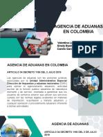 AGENCIA DE ADUANAS comercio C ....pptx