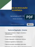 A teoria da Regulação Econômica