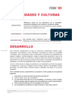 Actividad 3 - Sexualidades y culturas