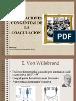 ALTERACIONES CONGÉNITAS DE LA COAGULACIÓN-10