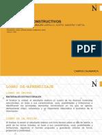 SESIÓN 03_MATERIALES ESTRUCTURALES LADRILLO, ACERO, MADERA Y METAL (ENCOFRADO)