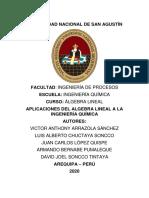 APLICACIONES DEL ALGEBRA LINEAL A LA INGENIERÍA QUÍMICA-25 PROBLEMAS