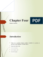 Chapter 4 - Business Entities