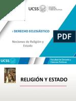 Nociones Religión y Estado - UCSS - Regular - 2020