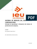 Actividad de Aprendizaje 4. Evaluación del sistema de prestaciones de la empresa..docx