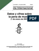 pena de muerte paises