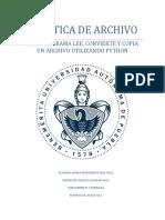 PRACTICA DE ARCHIVO