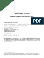 fallo corte interamericana derechos humanos -Gustavo Petro