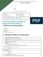 Ejemplos de Métricas _ Calidad, Métricas del Producto y Proceso de Pruebas de Software.pdf