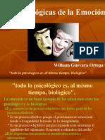 PSICOBIOLOGIA DE LA EMOCION