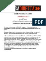 Comunicato Stampa - PRESADIRETTA