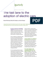 The fast lane to the adoption of electric cars