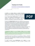 Clasificación o Tipología de la Familia.docx
