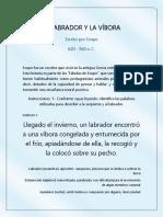 EL LABRADOR Y LA VÍBORA