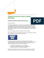 November-December 2010 California Food and Justice Coalition Newsletter