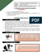 Module 9 Film Philarts