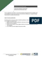 2. Sistematización de información