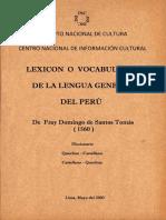 Lexicon o Vocabulario de la  Lengua General del Peru_2016.pdf