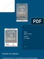 Steps to Christ Book Presentation