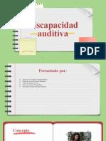Discapacidad auditiva Presentacion.pptx