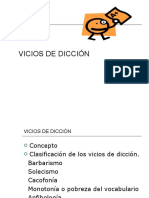 VICIOS DE DICCIÓN 2019 ACTUALIZADO