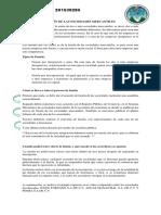 FUSIÓN DE LAS SOCIEDADES MERCANTILES
