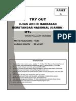 4. SOAL TO UAMBN FIKIH Paket 1