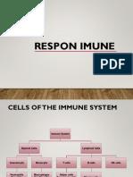 Respon Imun terhadap penyakit