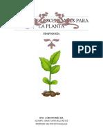 Elementos escenciales para la planta