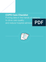 COPD Care Checklist Report