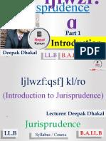 Jurisprudence in Nepali by Nepal Kanun YouTube Channel