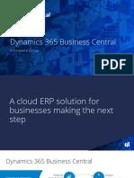 Dynamics 365 Business Central Implementation Subscription Model - April 2019