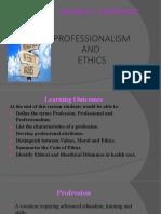 5. Professionalism and Ethics (2)