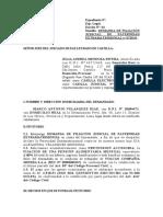DEMANDA DE FILIACIÓN EXTRAMATRIMONIAL ANDREA