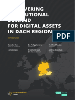 Discovering Institutional Demand for Digital Assets