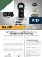 Brochure FR TLS-100