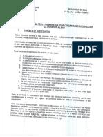 Tdr Pour l'Organisation de La Concertation Nationale Sur La Transition Au Mali
