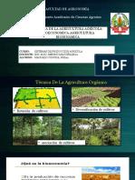 TECNICA AGRICULTURA ORG.-BIOECONOMIA-AGR. BIODINAMICA