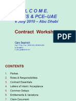 Contract Workshop - CICES-PCE 06-07-2010