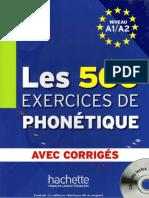 A1_A2_Les 500 exercices de phonetique Niveau.pdf