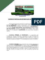 MODELO DE CONTRATO, LFPR e DESMATE